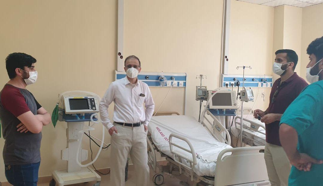 Dr. Umar Khan, MD, Cleveland Clinic Abu Dhabi visits MDMI