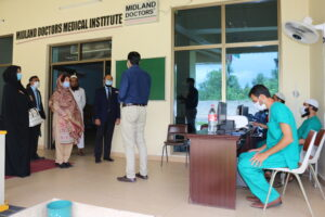 Visit of DG PNAC, Ms. Ismat Gul at MDMI
